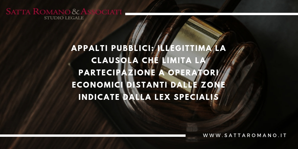infografica notizia lex specialis