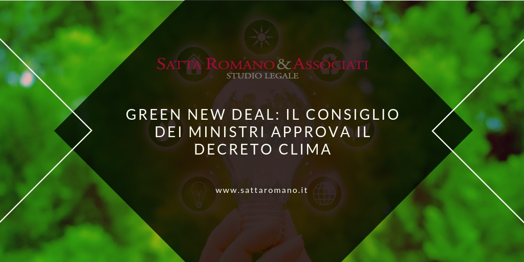 Infografica Green New Deal